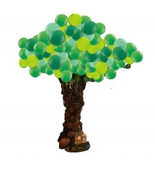 Balloon Tree Sculpture 12 ft tall